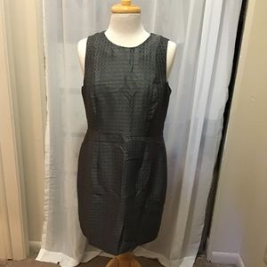 BR Silver Grey Shift Dress NWT 💐 Size 12P